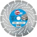 Алмазный диск по железобетону LEMAN 125