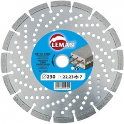 Алмазный диск по железобетону LEMAN 400