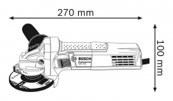 Болгарка BOSCH PWS 750-115