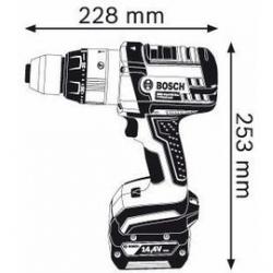 Дрель-шуруповерт BOSCH GSB 14,4 VE-2 LI L-BOXX Professional