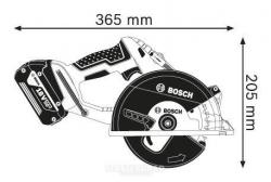 Пила циркулярная BOSCH GKM 18V-Li L-BOXX
