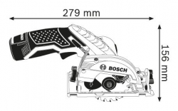 Пила циркулярная BOSCH GKS 12V-26