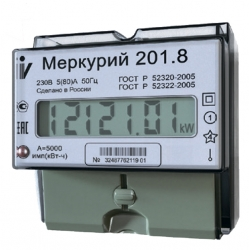 """Счетчик электроэнергии """"Меркурий"""" 201.8"""