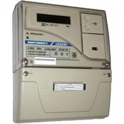 Счетчик электроэнергии трехфазный CE301BY S31 Энергомера