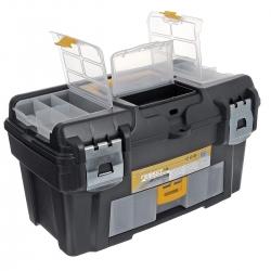 Ящик для инструментов пластмассовый ГЕФЕСТ 18 с консолью (М2944)