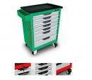 Ящик для инструментов на колесах 7 секций ProLine TOPTUL